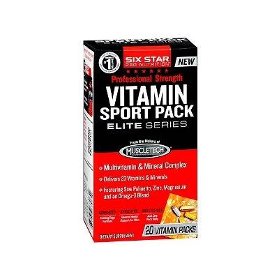 Six Star Professional Strength Vitamin Sport Packs