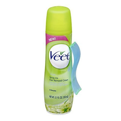 VEET Spray On Hair Removal Cream - Dry Skin: 5.1 OZ