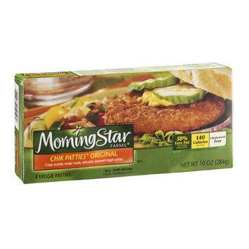MorningStar Farms Veggie Chik Patties Original - 4 CT