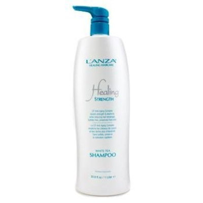 L'Anza Lanza Healing Strength White Tea Shampoo 33.8 oz