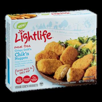 Lightlife Meat Free Crispy Gold'n Chik'n Nuggets