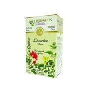 Celebration Herbals Organic Licorice Pieces Bulk Tea Caffeine Free 1.93 oz