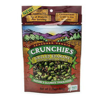 Crunchies Freeze Dried Snack Food Grilled Edamame with Wild Rice