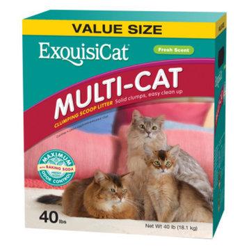 ExquisiCatA Multi-Cat Clumping Scoop Cat Litter