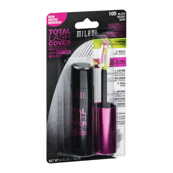 Milani Total Lash Cover Mascara 105 Black