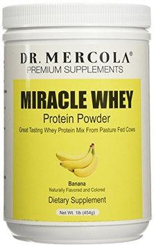 Dr. Mercola: Miracle Whey Banana Protein Powder 1 lb