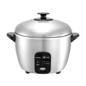 Sunpentown 10 Cups Stainless Steed Rice Cooker/Steamer
