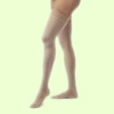 BSN Medical COMPRESSION STOCKINGS OPAQUE 20-30 THIGH HIGH CLOSED TOE DOT HON SM