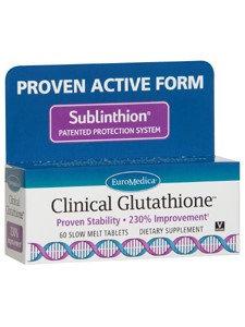 Euromedica Clinical Glutathione 60 tabs