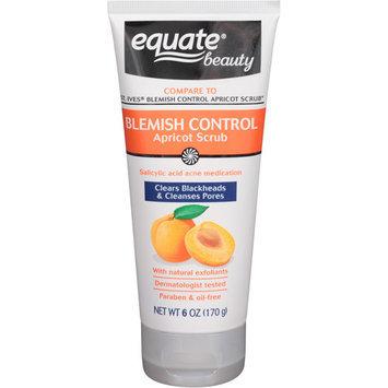 Equate Beauty Blemish Control Apricot Scrub, 6 oz