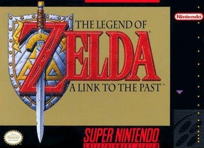 Legend of Zelda A Link to the Past Video Game