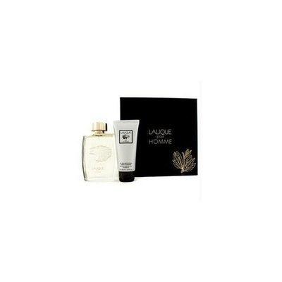 Lalique 12930670014  Pour Homme Coffret: Eau De Parfum Spray 125ml-4. 2oz plus Perfumed Hair and amp