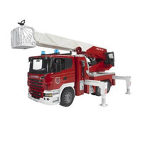 Bruder Scania R-Series Fire Engine with Water Pump and Light and Sound