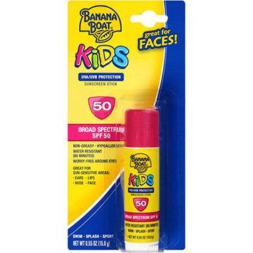 Banana Boat® KiDS UVA/UVB Protection Sunscreen Stick for Faces Broad Spectrum SPF 50