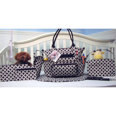 The Mommy Essentials 7-piece Diaper Tote Set