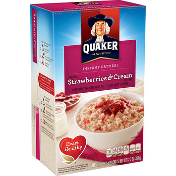 Quaker® Instant Oatmeal Strawberries And Cream