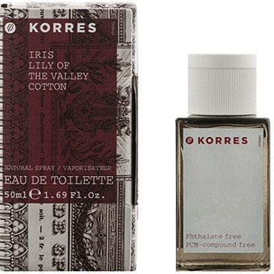 KORRES Iris/Lily Of The Valley/Cotton Eau De Toilette
