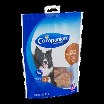 Companion Jerky Strips Dog Treats Chicken Tenderloins