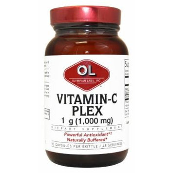 Olympian Labs Vitamin C-plex With Bioflavs, 1000 mg, 90 Tablets