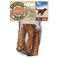 Hartz All Natural Premium Chews Smokey Pork Bone for Dog (3 Count)
