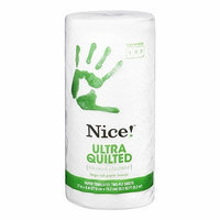 Nice! Ultra Quilted Paper Towels Large Roll