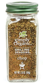 Simply Organic GRILL SEAS, OG2, CHOP, (Pack of 6)