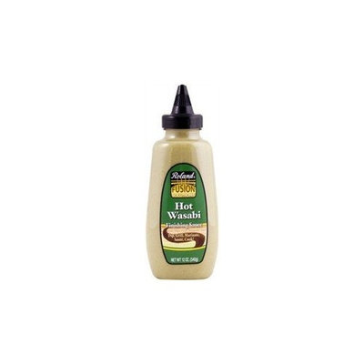 Roland Hot Wasabi Finishing Sauce, 12 Ounce Squeeze Bottle