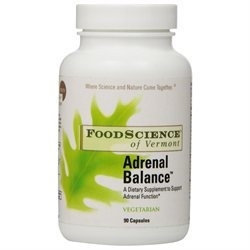 FoodScience of Vermont Specialty Supplements Adrenal Balance 90 vegetarian capsules