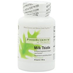 Food Science Labs Milk Thistle 300 MG - 90 Capsules - Milk Thistle