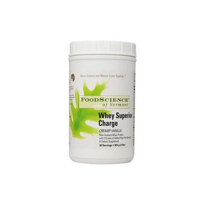 Foodscience of Vermont Whey Superior Charge Creamy Vanilla Powder - 33.65 Ounces