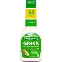 Hidden Valley Cucumber Dill Greek Yogurt Dressing, 12 fl oz