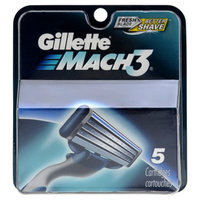 Gillette Men's Mach 3 Razor Replacement Cartridges