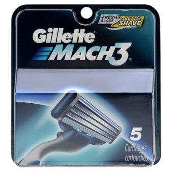 Gillette Men's Mach 3 Razor Replacement Cartridges
