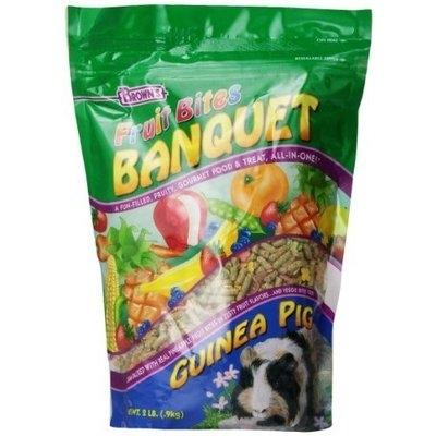 Fm Browns Fruit Bites Banquet Guinea Pig Food, 2-Pound