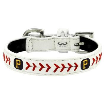 GameWear Pittsburgh Pirates Classic Leather Toy Baseball Collar