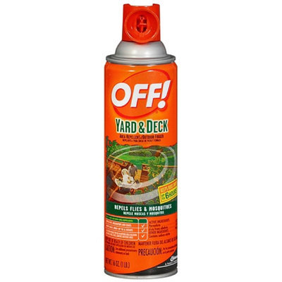 OFF! Yard & Deck Area Insect Repellent & Outdoor Fogger