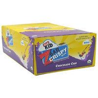 Clif Kid Organic Zbar Crispy Rice - Chocolate Chip, 12 - 1.0 oz (28g) bars