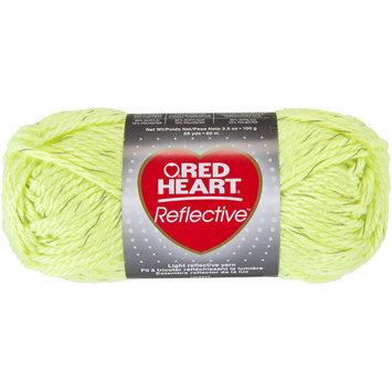 Coats & Clark Inc. Reflective Yarn-Neon Yellow