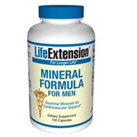Life Extension Mineral Formula for Men Tablets, 100-Count