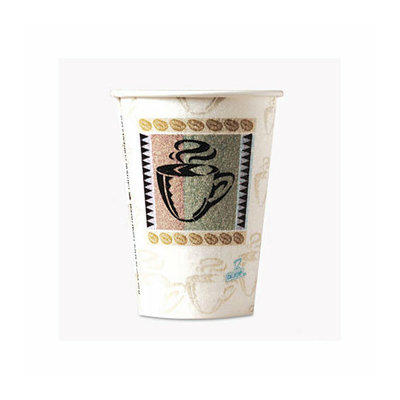 DIXIE FOOD SERVICE Dixie Foods Coffee Dreams Design Paper Hot Cups