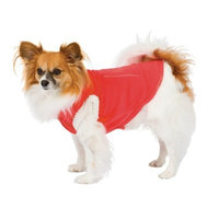 Fashion Pet Dog Polar Fleece Vest, Red, Small