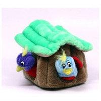 Kyjen Innovative Kyjen Plush Puppies Hide a Bird Dog Toy