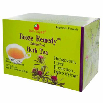 Health King Booze Remedy Herb Tea 20 Tea Bags