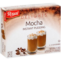 Jel Sert ROYALÂ DELIGHTS MOCHA PUDDING 2.90 OZ