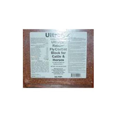 Ultralyx 10401/UL1101 Black Rabon Cattle & Horse Block 33.3 Pound