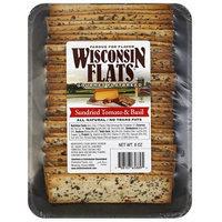 Generic Wisconsin Flats Sundried Tomato & Basil Gourmet Flatbread, 8 oz, (Pack of 10)