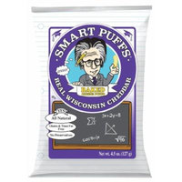 Smart Puffs Real Wisconsin Cheddar, 4.5 Ounce (Pack of 12)