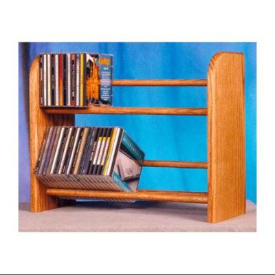 Wood Shed 2 Row Dowel Storage Rack (Honey Oak)