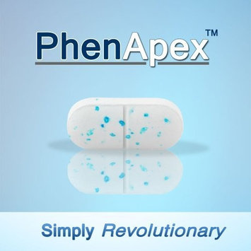 Phen Apex White/Blue Advanced Appetite Suppressant 180 Count (90 Day Supply) - Simply Revolutionary Best Diet Pill
