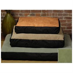 The Shrimp 3611 - Original Small Bed - Faux Suede - Leaf